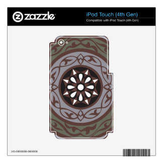 EGYPTIAN TWIST DECAL FOR iPod TOUCH 4G