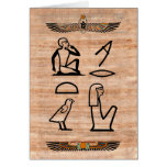 Egyptian Valentine (Woman to Man) Stationery Note Card