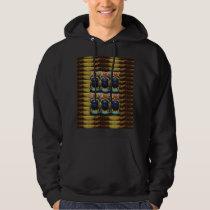 Egyptian Vintage Historical Jewel PYRAMID Cosmic Hoodie