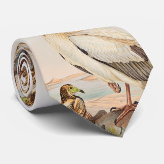 Egyptian Vulture John Gould Birds of Great Britain Neck Tie