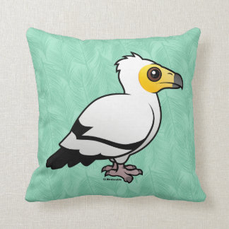 Egyptian Vulture Throw Pillow