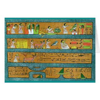 Egyptian Wall Art Card