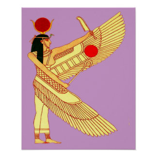 Egyptian Wall Art Poster
