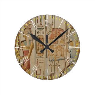 Egyptian Wall Clock