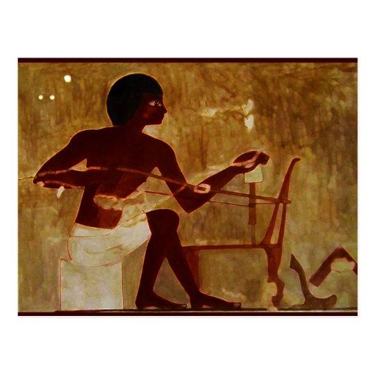 Egyptian Weaver Postcard