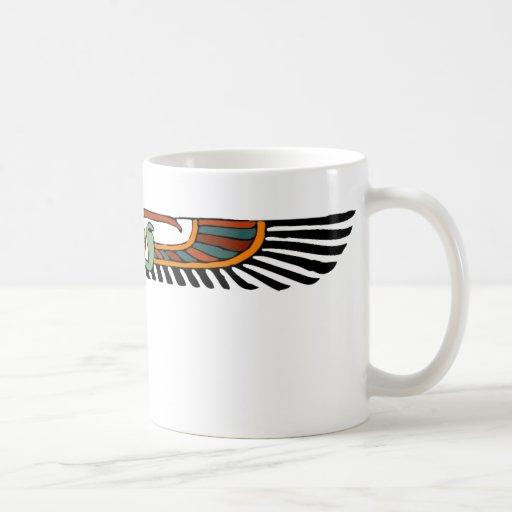 Egyptian Winged Disk Classic White Coffee Mug
