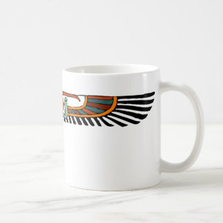 Egyptian Winged Disk Coffee Mug