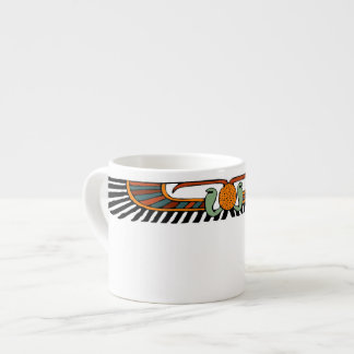 Egyptian Winged Disk Espresso Cup