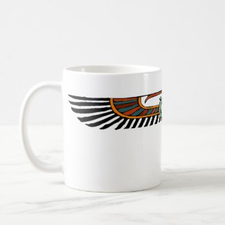 Egyptian Winged Disk mug