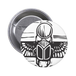 Egyptian Winged Scarab Buttons