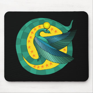 Egyptian Winged Serpent Mousepad