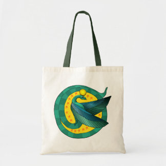 Egyptian Winged Serpent Tote Bag