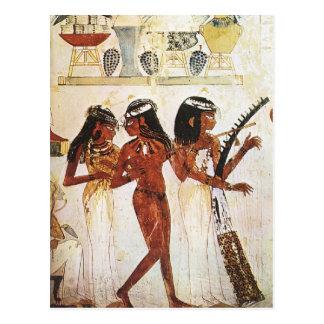 Egyptian Women Musicians Postcard