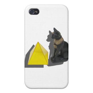 EgyptianCatPyramid021411 iPhone 4 Cases