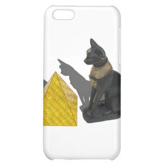 EgyptianCatSunPyramid021411 iPhone 5C Covers