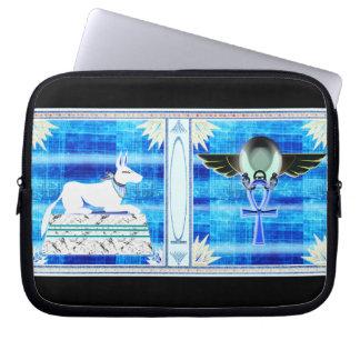 egyptisme (invert) computer sleeve