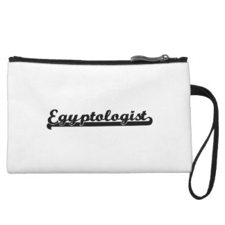 Egyptologist Classic Job Design Wristlet Clutch