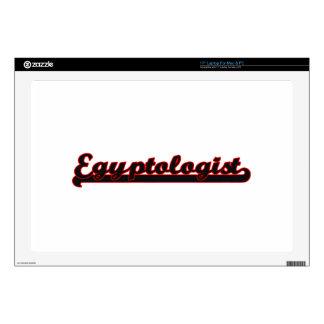 Egyptologist Classic Job Design Laptop Decal