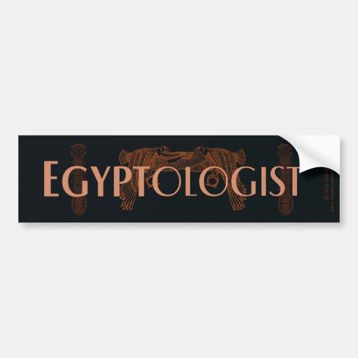 Egyptologist Pegatina Para Auto