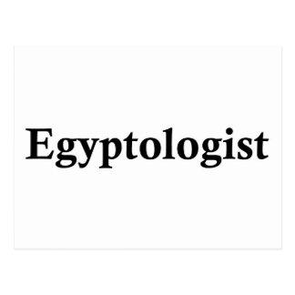 Egyptologist Postcard