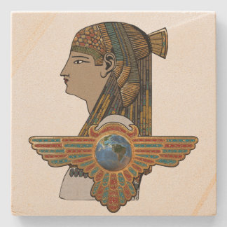 Egyptopia Posavasos De Piedra