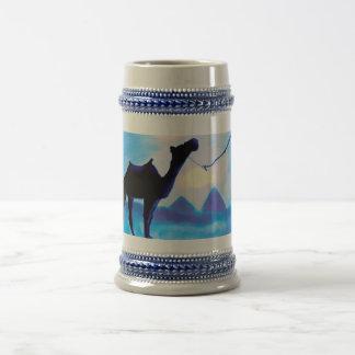 Egypt's Blue Dawn Beer Stein