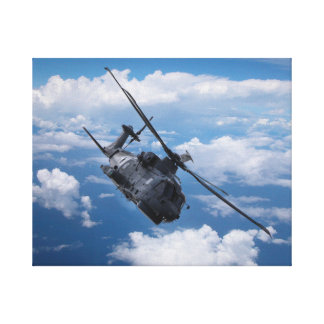 EH101 Merlin Helicopter Canvas Print