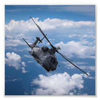 EH101 Merlin Helicopter Photo Print