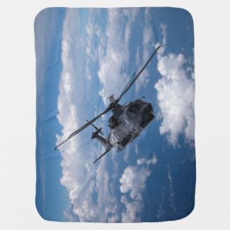 EH101 Merlin Helicopter Swaddle Blanket