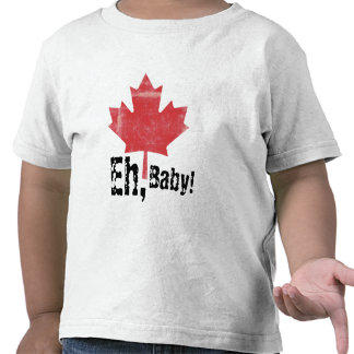 Eh, Baby!  Canadian Made Toddler Design T Shirts