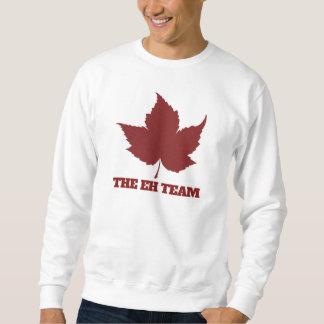 Eh canada day humor pullover sweatshirt