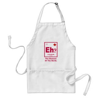 Eh? Canadian Element of Canada Adult Apron