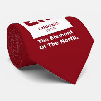 Eh? Canadian Element of Canada Tie