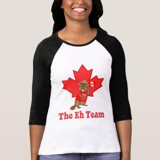 Eh castor del equipo camiseta