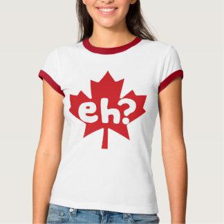 Eh día canadiense de Canadá del orgullo Playera