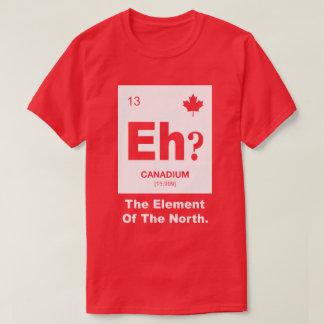 ¿Eh? Elemento canadiense de Canadá Playera