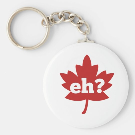 Eh for Canada Day Keychain