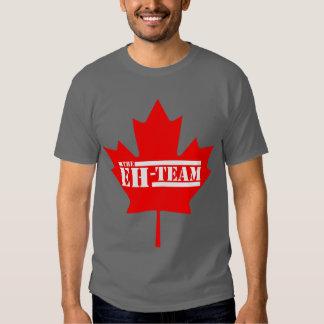 Eh hoja de arce de Canadá del equipo Remera