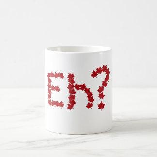 Eh? Classic White Coffee Mug
