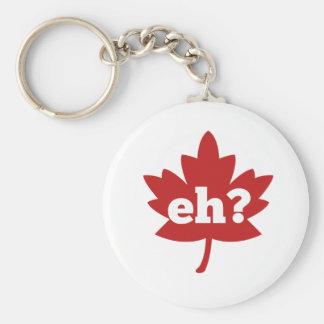 Eh para el día de Canadá Llaveros Personalizados