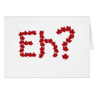 Eh? Stationery Note Card
