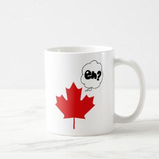 ¿Eh? Taza del día de Canadá
