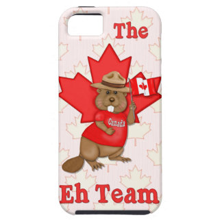 Eh Team Beaver iPhone 5 Cases
