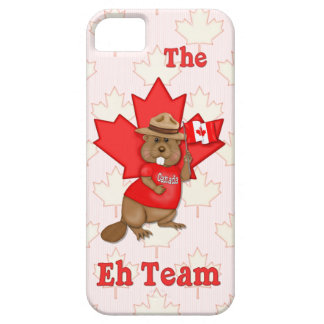 Eh Team Beaver iPhone 5 Case