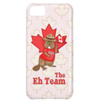 Eh Team Beaver iPhone 5C Cases