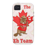 Eh Team Beaver Case-Mate iPhone 4 Cover