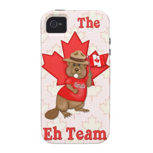 Eh Team Beaver iPhone 4/4S Covers