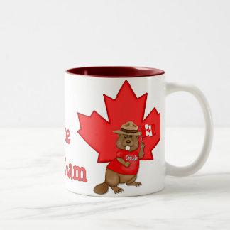 Eh Team Beaver Coffee Mugs