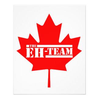 Eh Team Canada Maple Leaf Flyer
