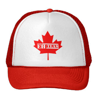 Eh Team Canada Maple Leaf Hats